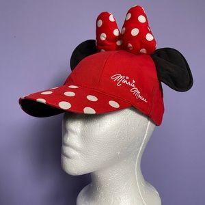 Disney Parks KIDS Minnie Mouse Ears Hat